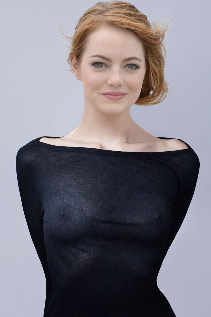 emma stone boobs see through nude nipples