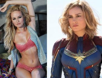 "Brie Larson ""Captain Marvel"" Topless and Nude"