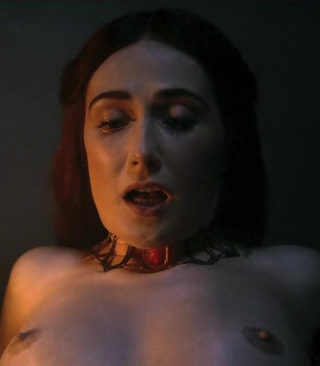 carice van houten nude game of thrones scene boobs 1