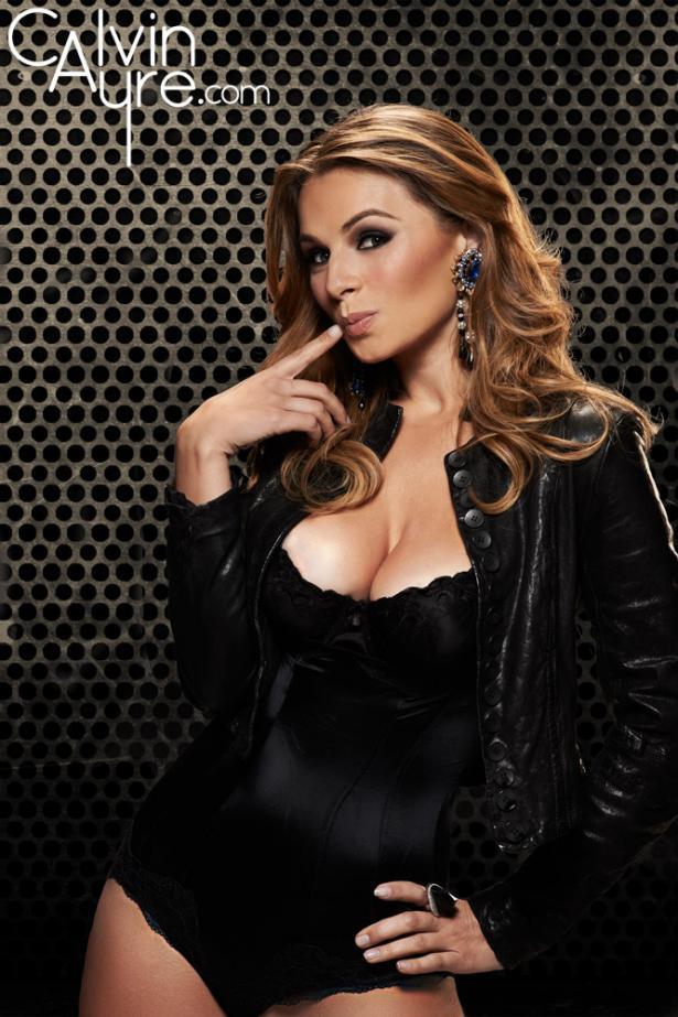 Tatjana Pasalic hot lingerie poker babe